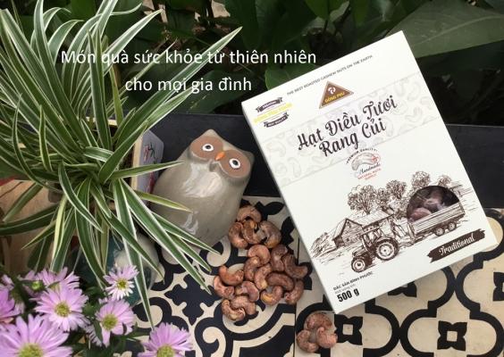 hạt điều tươi rang củi Đồng Phú